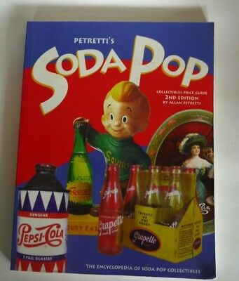 1999 Petretti's Soda Pop, Giant Book, Pepsi, Coca Cola, Orange Crush, Hires Etc.