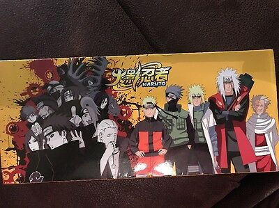Naruto 10 Piece Weapon Necklace Set New In Box