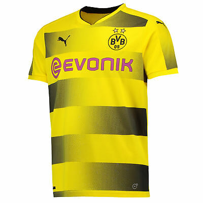 Puma BVB Borussia Home Shirt 2017-18 - Outsize Mens Gents Football Jersey Top