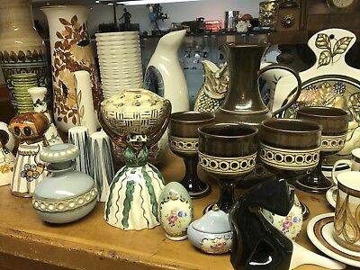 Jersey Pottery. Over 120 Pieces. Lifelong Collection.
