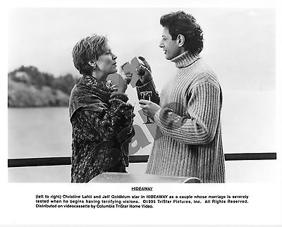 Hideaway Movie Still B&W Photo Jeff Goldblum Christine Lahti Original