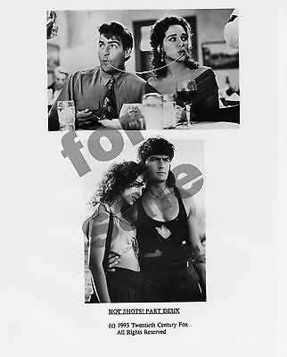 Hot Shots! Part Deux Movie Still 3 B&W Photos Charlie Sheen Valeria Golino