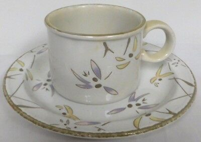Midwinter Wild Orchid Stonehenge Cups Saucers Wedgwood Group Made In England