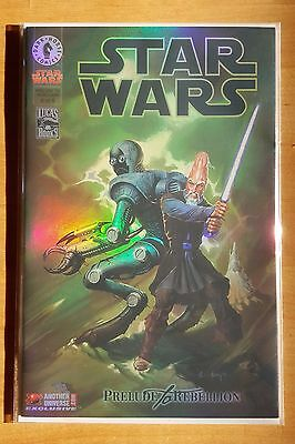 Star Wars #6 - Prelude To Rebellion Another Universe Holofoil Cover *nm*