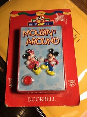 Disney- mousin' around- Doorbell- Sealed- See Pics