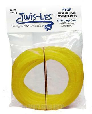 Twis-Les Electrical Cord Cover & Detangler - YELLOW