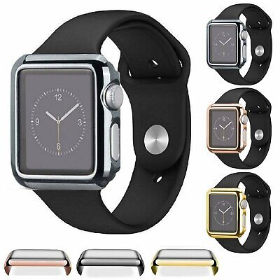 Apple Watch Series 1/2/3 38/42MM Full Body Cover Snap On Case + Screen Protector