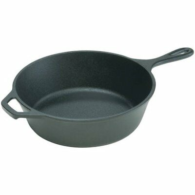 """Lodge Logic 12"""" Deep Skillet L10DSK3"" W"