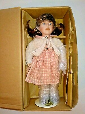 Boyds Bears Porcelain Doll Yesterdays Child - Madison (New in Box)