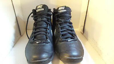 Women S Nike Air Visi Pro 3 Basketball Shoes High Tops Black Size Us