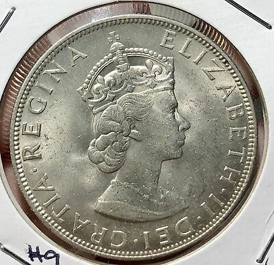 1964 Bermuda Silver Crown. Beautiful Collector Coin For Your Collection 9