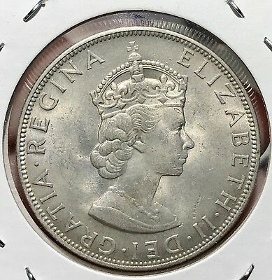1964 Bermuda Silver Crown. Beautiful Collector Coin For Your Collection 7