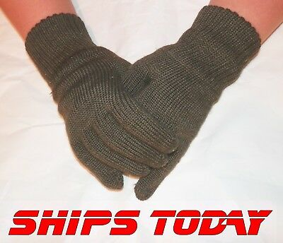 Kids NEW Wool Blend Gloves Czech Military Surplus Hunting Fishing Hiking Youth