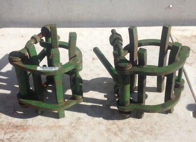 pipe welding line up saddle cage clamp precision alignment pipeline welder