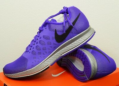 buy online d2602 aee8d NEW Womens Nike Zoom Pegasus 31 Flash Size 9 Purple Running Shoes w  H2O  Repel