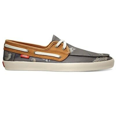 4650b790a13 VANS CHAUFFEUR (BIRDS) Shitake Buckthorn Men s Surf Shoes SIZE 8.5 -  39.94