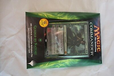 Magic the Gathering MTG COMMANDER 2014 DECK Guided by Nature