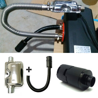 Air intake filter silencer+Exhaust Silencer for Webasto Eberspacher Auto Heater