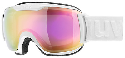 Uvex Downhill 2000 small FM Skibrille Snowboard Brille Winter Schnee - white