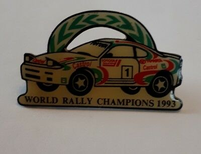 Toyota World Rally Champions 1993 Pin