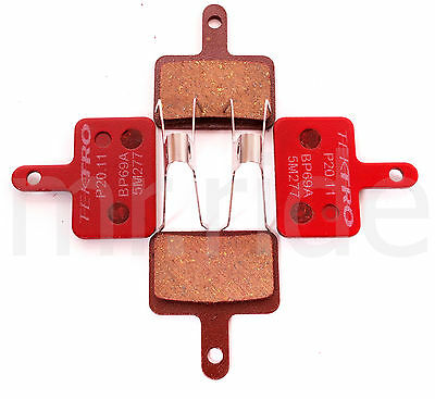 Tektro Bike P20.11 Disc Brake Pads w/ Spring for Auriga/Orion/Volans 2 pair