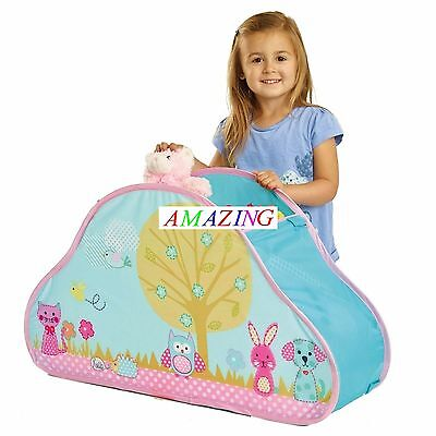 Chad Valley Woodland Creatures Pop Up Storage Box / Tent - Brand New  sc 1 st  PicClick UK & POP up Tent Woodland Fairy Tree House - BNIP - treehouse play tent ...