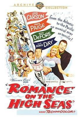 Romance On The High Seas New Region 1 Dvd