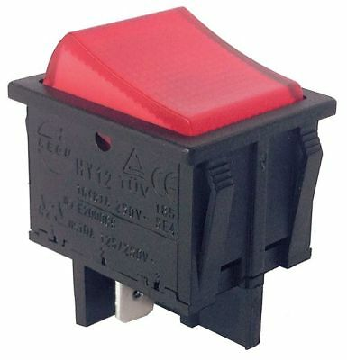 POWER FIRST Rocker Switch,DPST,4 Connections 29FG28