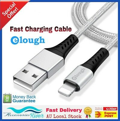 2M/3M Apple MFI Certified Lightning Sync Cable Charger iPhone 5 5S 6 6s 7 8 Plus