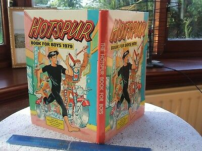 HOTSPUR BOOK (Annual) FOR BOYS 1979. (Unclipped Price Tag). VG.COND