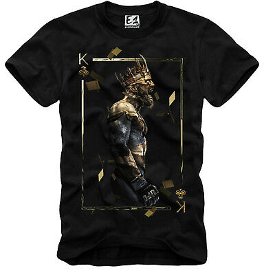 E1SYNDICATE T SHIRT CONOR McGREGOR THE KING UFC MMA CHAMPION NOTORIOUS 3423