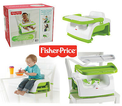 Baby Travel Booster Seat Infant Portable Chair High Feeding Grow With Me Fisher
