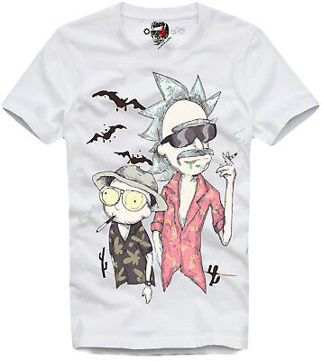 E1Syndicate T Shirt Fear And Loathing In Las Vegas Rick & Morty 3441