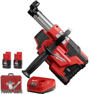 Milwaukee 2306-22 M12 HAMMERVAC Universal Dust Extractor Kit New