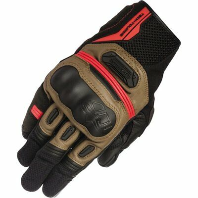 Alpinestars Highlands Leather/Textile Gloves Motorcycle Race Gloves