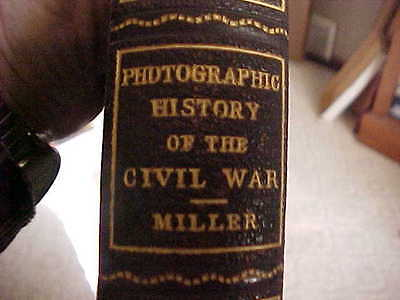 """PHOTOGRAPHIC  HISTORY OF THE CIVIL WAR  """"THE DECISIVE BATTLES""""  352 Pages"""