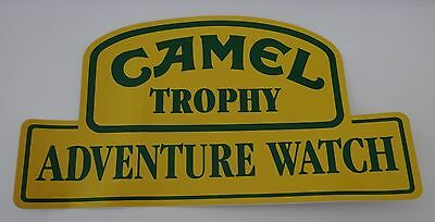 Aufkleber CAMEL TROPHY ADVENTURE WATCH Uhren 90er Sticker