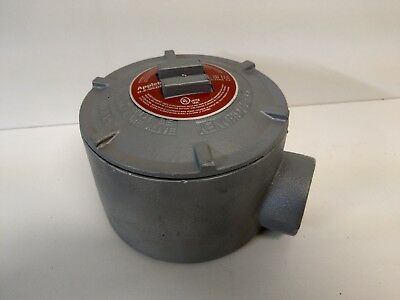 "New Old Stock! Appleton O-Z Gedney 1-3/4"" Outlet Box Gr-Gua"