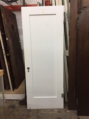 Single Panel Interior Door 78 X 30