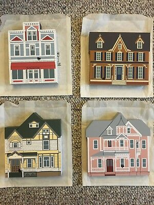 Cat's Meow Village Daughters of the Painted Ladies Series (Set of 4)