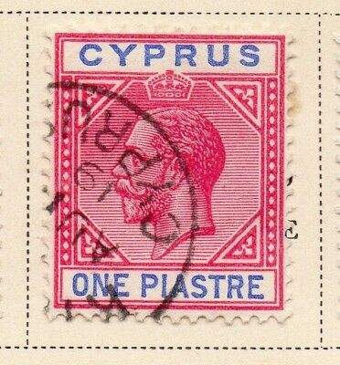 Cyprus 1912-14 Early Issue Fine Used 1p. 220336