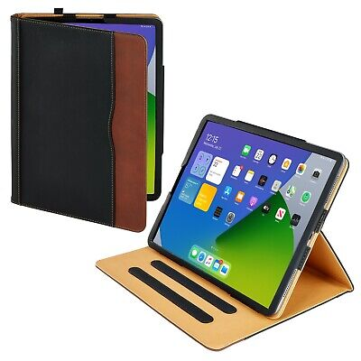 S-Tech Soft Leather iPad Case Magnetic Smart Cover for Apple iPad Pro 12.9