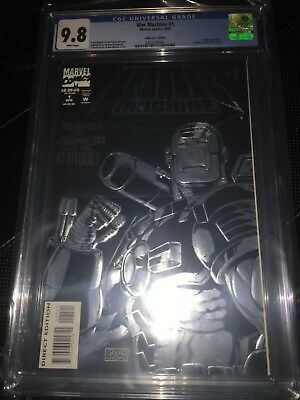 WAR MACHINE #1 Marvel Comics CGC 9.8 (1994) CABLE Appearance