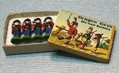 Dollhouse Miniature Toy Soldiers with Box Kit -- 1:12 Scale