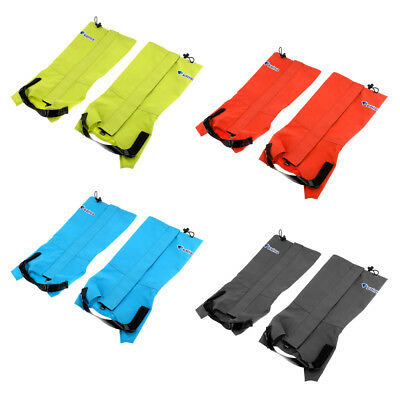 Pair Waterproof Outdoor Hiking Walking Climbing Hunting Snow Legging Gaiters