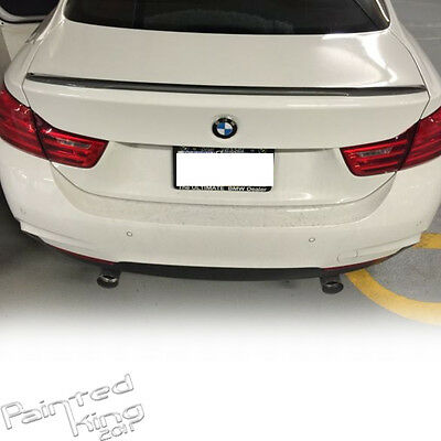 Carbon For BMW 4-Series F32 P Type Type Rear Trunk Boot Spoiler 2DR Coupe 428i