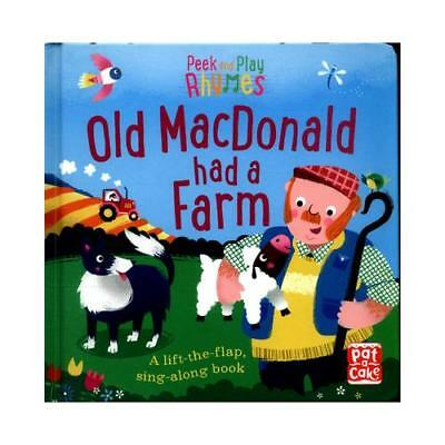 Old Macdonald Had a Farm by Pat-a-Cake (author), Richard Merritt (illustrator)