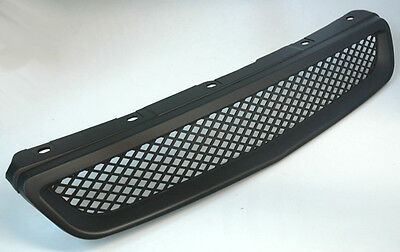 JDM Type R Style ABS Front Grill w/ ABS Mesh Center for Honda Civic 96-98