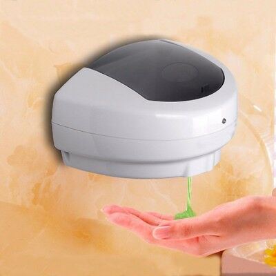 500ml Automatic Sanitizer Soap Dispenser Sensor Touchless Hand Free Wall Mounted