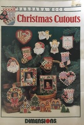 barbara mock christmas cutouts Ornament pattern